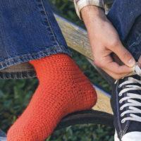 Basic Crocheted Socks Pattern