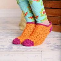 Color Pop Socks Pattern
