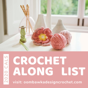 2020 Crochet Alongs CALs List