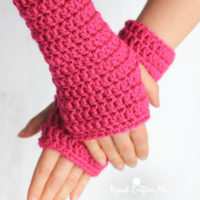 50-Minute Fingerless Gloves Pattern