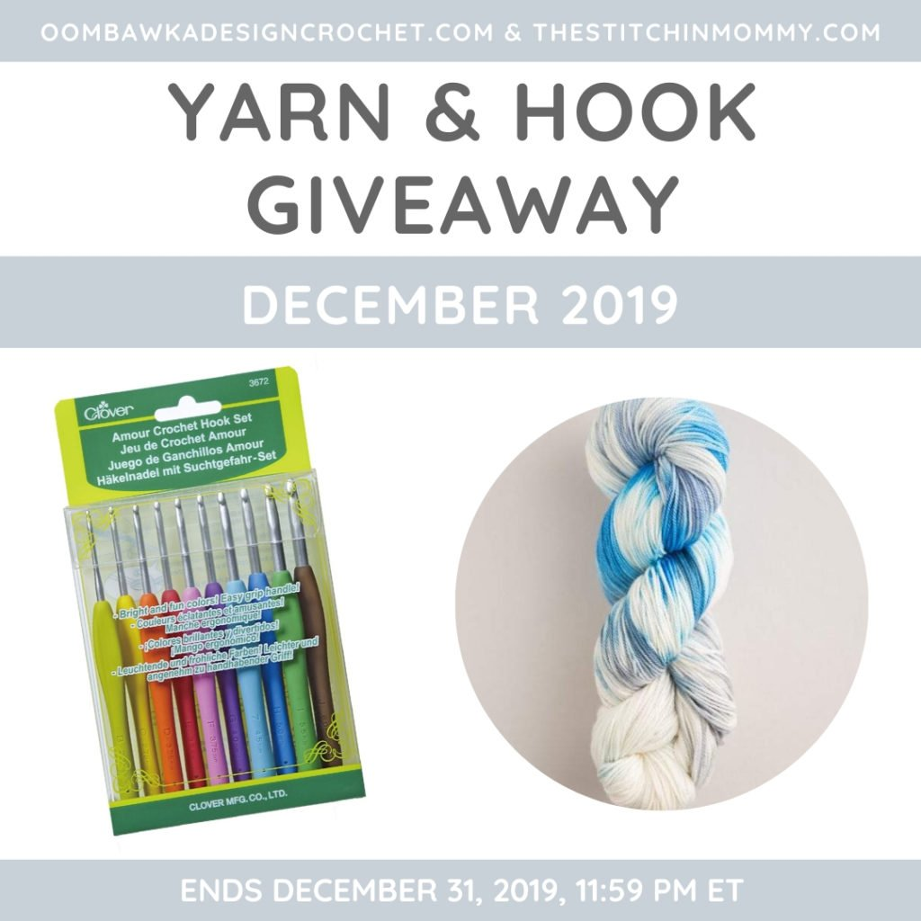December Yarn and Hook Giveaway with Amy and Rhondda
