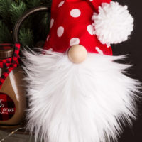 Featured at Wednesday Link Party 328 How to Make a Christmas Gnome