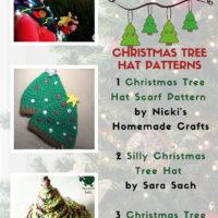 Free Crochet Christmas Tree Hat Patterns