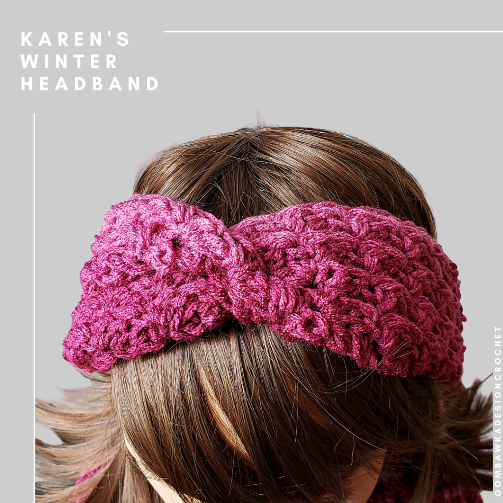 Karen's Winter Headband Crochet Pattern