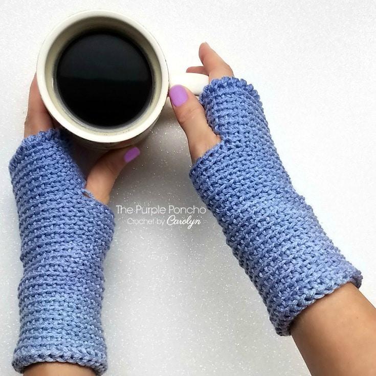 Ombre Fingerless Gloves Pattern