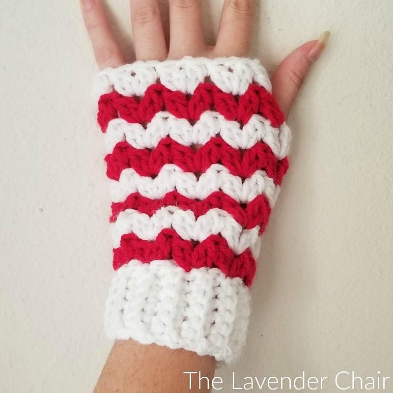 Peppermint Fingerless Gloves Pattern