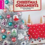 Retro Christmas Ornament Patterns From Leisure Arts Review by Rhondda at Oombawka Design Crochet