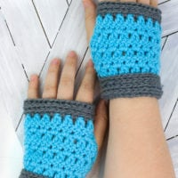 Winter Park Fingerless Mitts Pattern