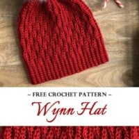 Featured at Wednesday Link Party 327: Wynn Hat by Noowul Designs