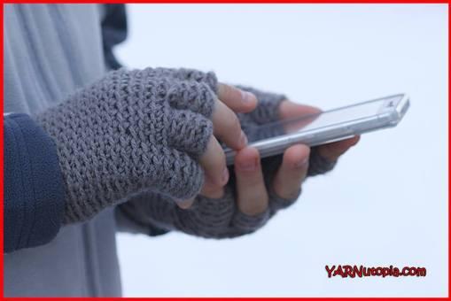 Freestyle Fingerless Gloves Pattern