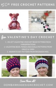 50 Free Crochet Patterns for Valentine's Day