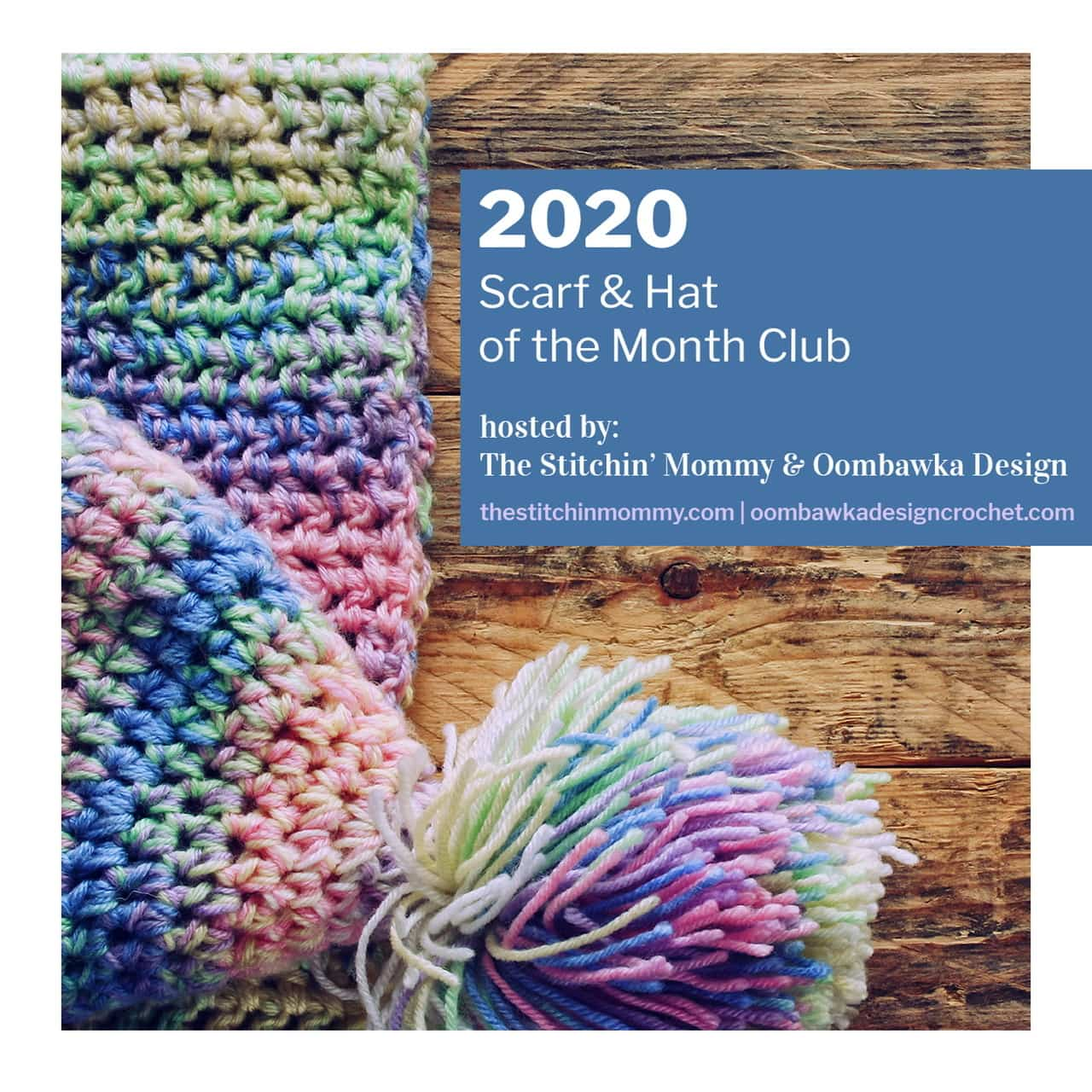 Announcing the 2020 Scarf and Hat of the Month Club CAL
