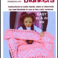 Car Seat Baby Blanket Crochet Patterns from Shady Lane Original Crochet Designs