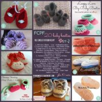 20 Baby Booties Pattern