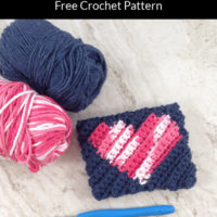 Featured at Wednesday Link Party 331 How to Crochet the Sketch Heart Cup Sleeve by Krazy Kabbage