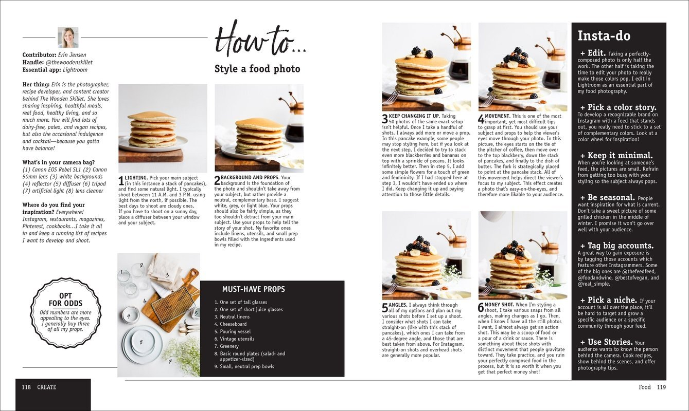 How to Style a Food Photo InstaStyle DK Canada Book Review Oombawka Design