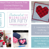 Party 331 Featuring Valentine's Day Crochet and Craft Projects