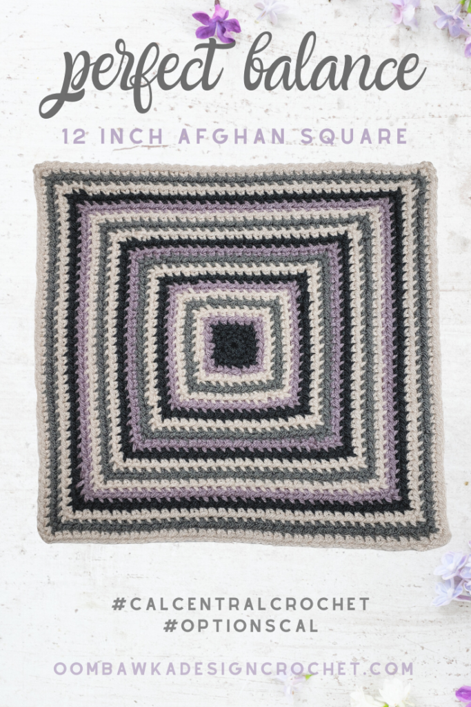 Perfect Balance Afghan Square Pattern Oombawka Design Crochet PINs