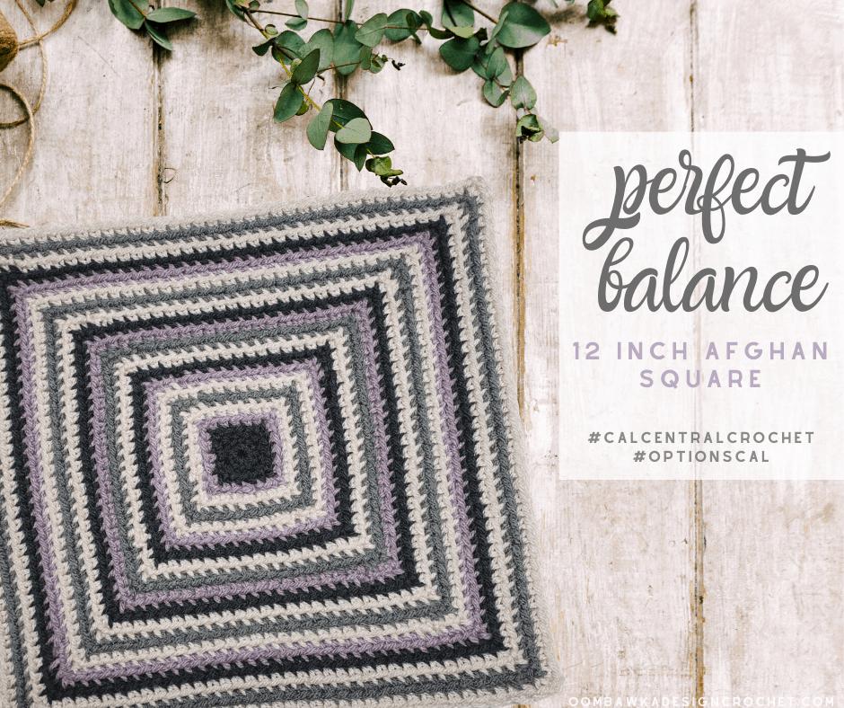 Perfect Balance Square Oombawka Design Crochet 2020