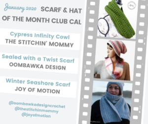 Scarf of the Month Club 2020 January Scarf Collection