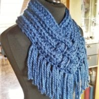 Woven Cowl from Häkelfieber Austria Featured at Wednesday Link Party 329