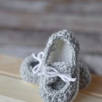 Baby Boat Booties Pattern