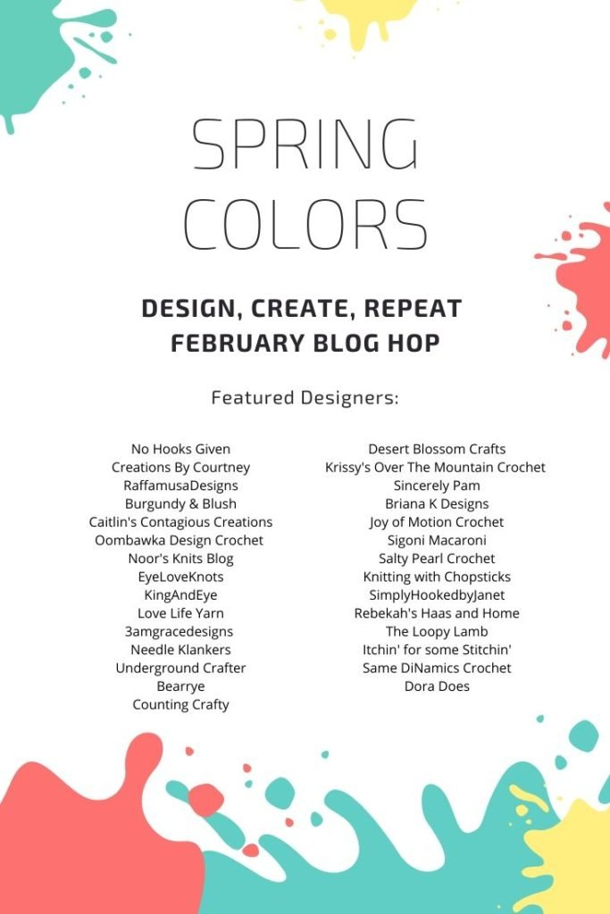 Spring Colors Blog Hop with Design Create Repeat Featuring Designs from