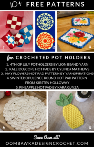 10 Free Crochet Hotpad Patterns Free Pattern Friday Roundup