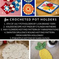 10 Free Crochet Hotpad Patterns Free Pattern Friday Roundup