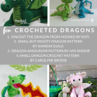 10 Free Dragon Crochet Patterns