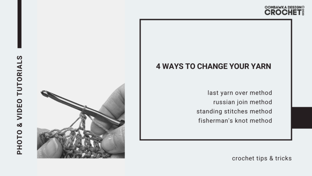 4 Ways to Change Your Yarn Post Cover Image