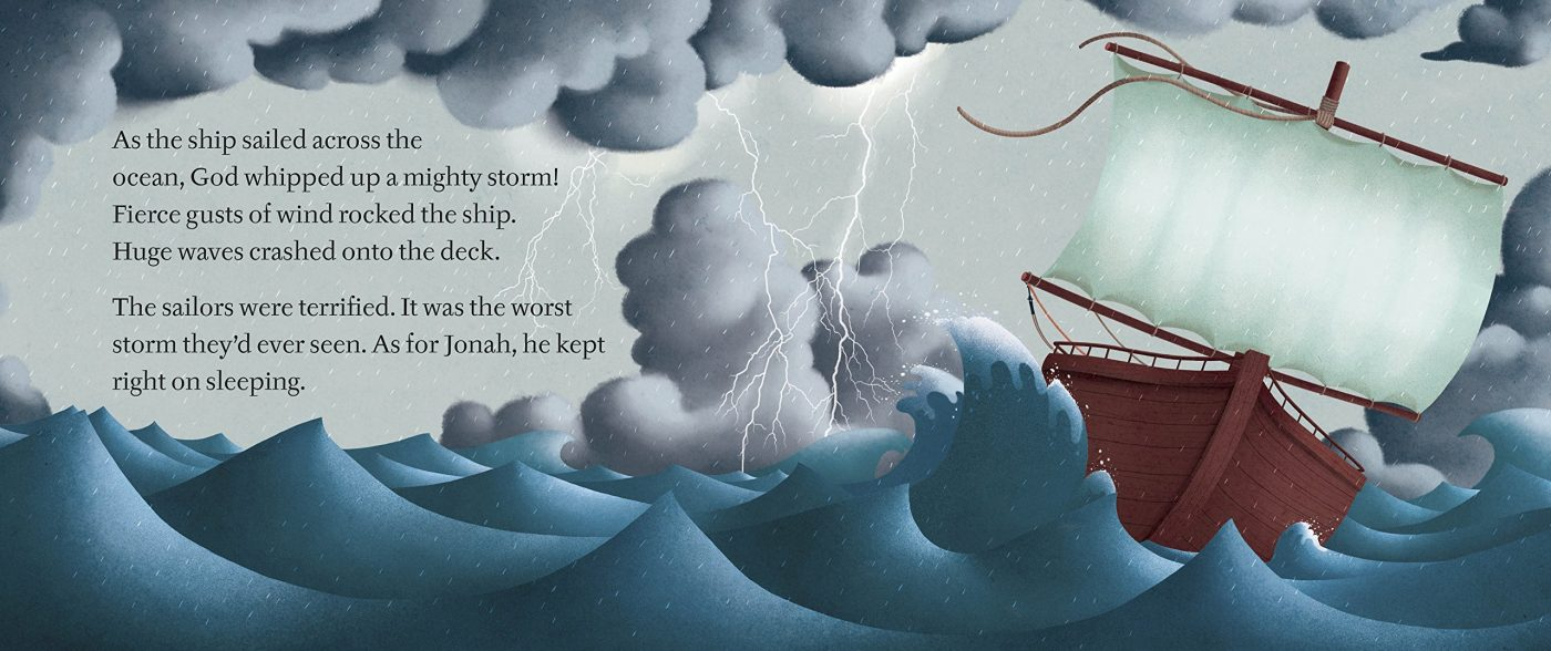 Jonah and the Whale - DK Canada - Book Review - Oombawka Design - Amazon Images
