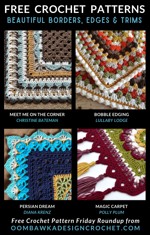 Beautiful Blanket Edges, Borders and Trims
