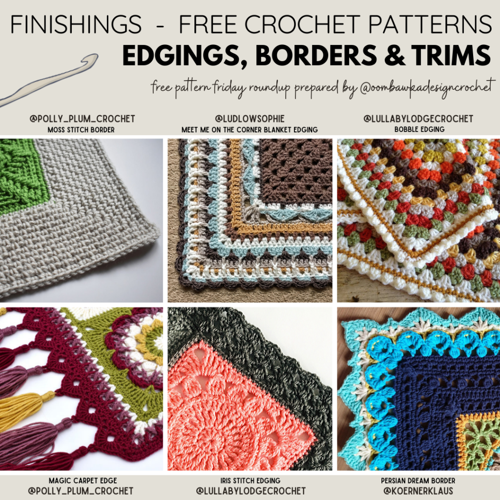 Beautiful Crochet Edgings Blanket Borders and Trims