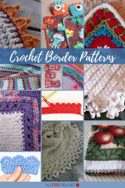 30+ Crochet Border Patterns