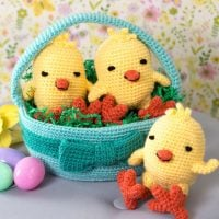 Easter Baskets at Red Heart Yarn