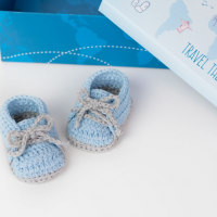 FREE PATTERN Crochet Baby Sneakers Croby Patterns