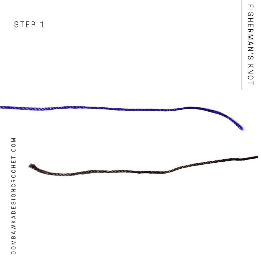 Fisherman's Knot Step 1
