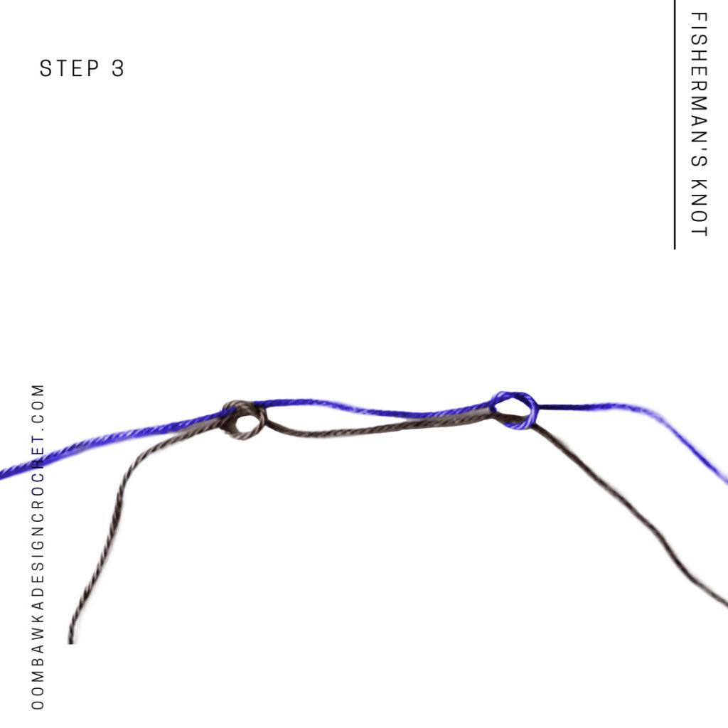Fisherman's Knot Step 3