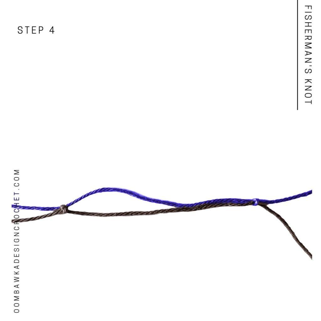 Fisherman's Knot Step 4