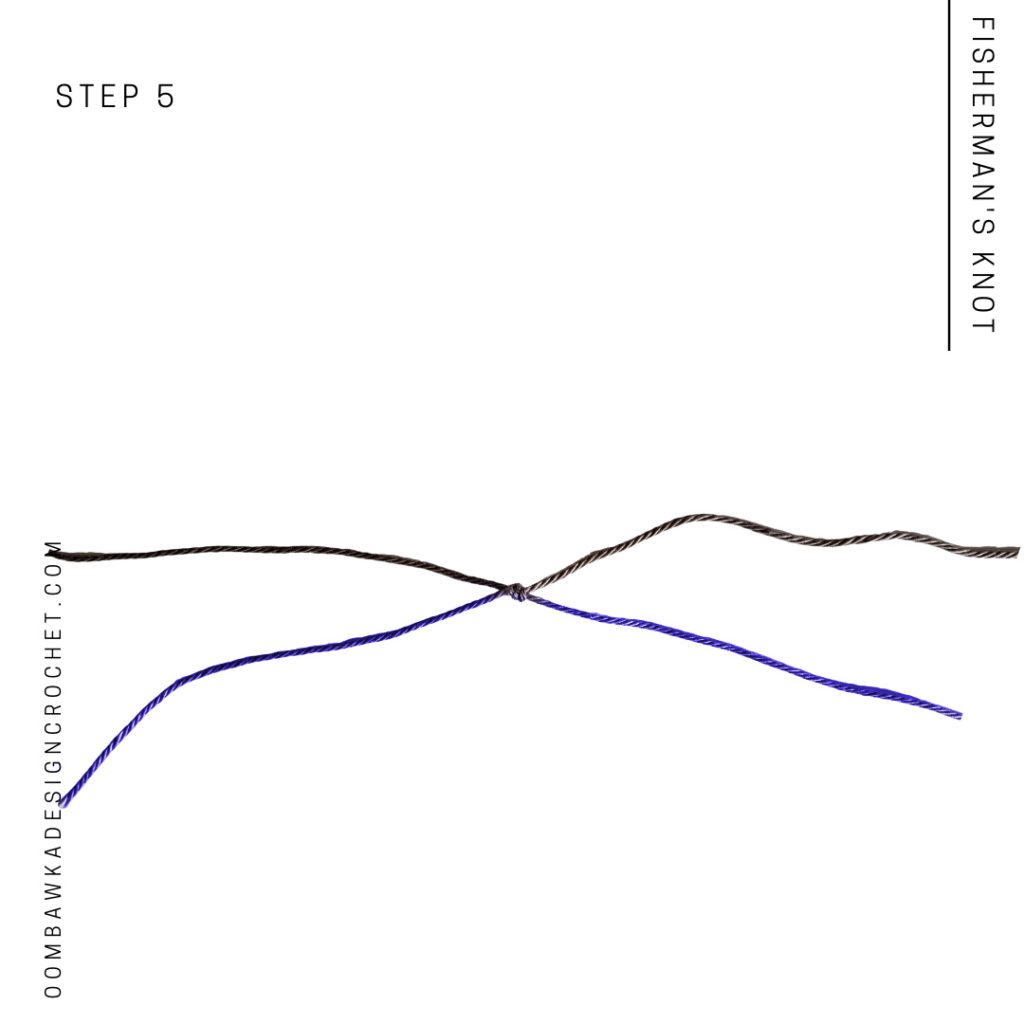 Fisherman's Knot Step 5