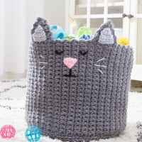 Kitty Basket Pattern