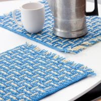 Mosaic Basketweave Placemat by Susan Lowman