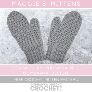 Maggie's Mittens Pattern ODC2020