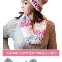 Maggie's Winter Crochet Pattern Set Oombawka Design Crochet