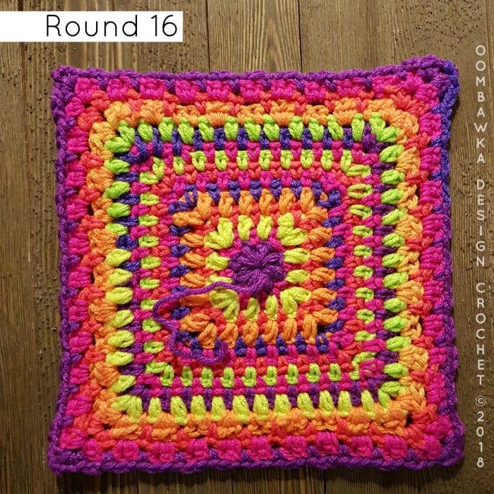 Round 16 Reverie oombawkadesigncrochet
