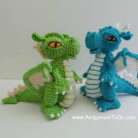 Tiny dragon amigurumi pattern | Crochet dragon pattern, Crochet ... | 200x200