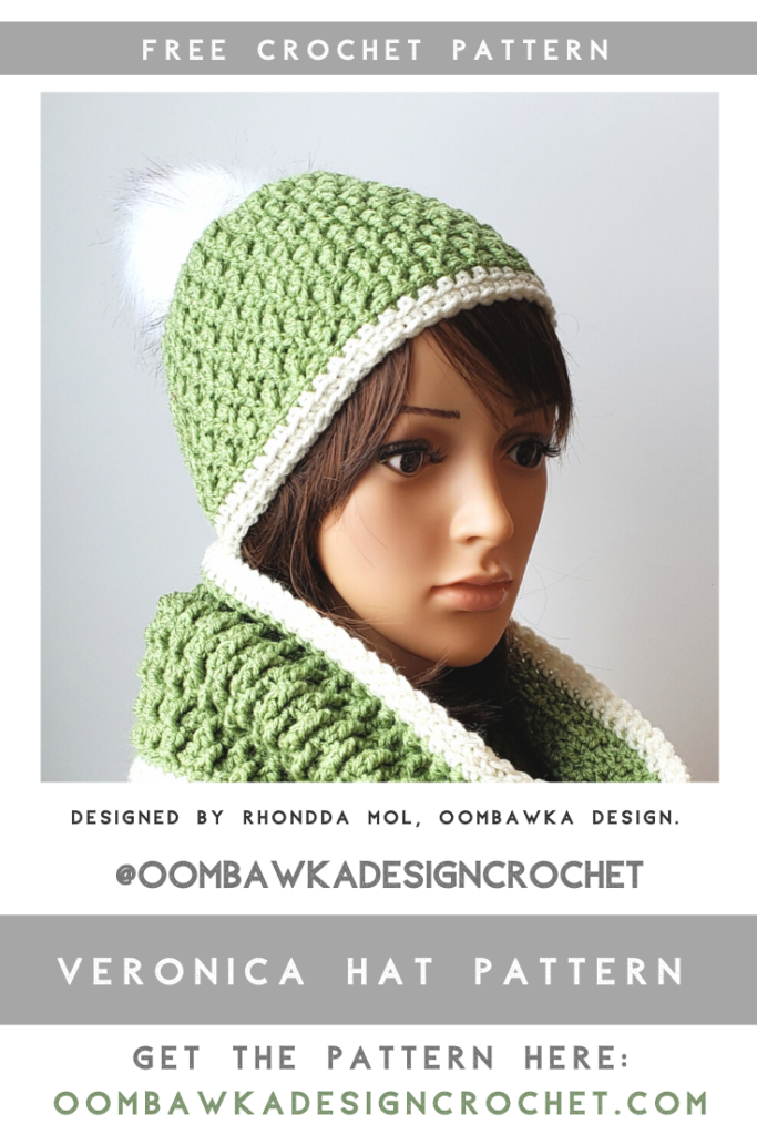 Veronica Hat Pattern February Hat of the Month