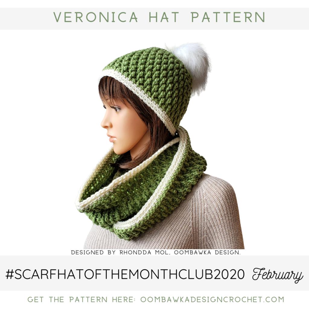 Veronica Hat Pattern ODC2020