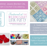 Winter Jewels, Sweet Hearts And Spring Craft Fair Picks Wednesday Link Party 335 Features